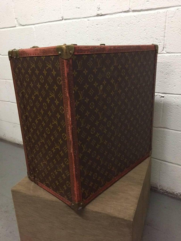 Vintage Louis Vuitton Hat Box For Sale 1