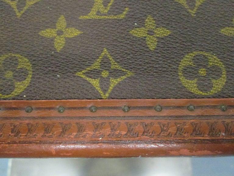 Vintage Louis Vuitton Hat Box For Sale 2