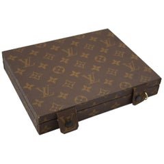 Vintage  Louis Vuitton Jewelry Box in Monogram Canvas