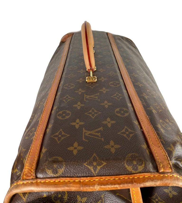 Vintage Louis Vuitton Large Folding Garment Monogram Luggage, circa 1970. For Sale 1