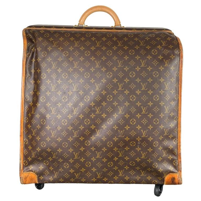Vintage Louis Vuitton Large Folding Garment Monogram Luggage, circa 1970. For Sale
