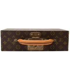 Vintage Louis Vuitton Monogram Jewellery Case Trunk M47140