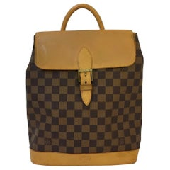 Vintage Louis Vuitton Soho Backpack in Damier Ebene (limited edition)