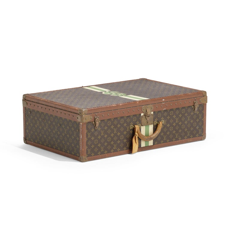 French Vintage Louis Vuitton Suitcase For Sale