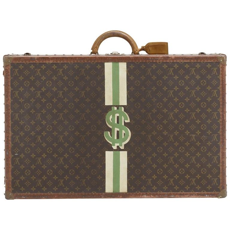 Vintage Louis Vuitton Suitcase For Sale