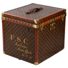 Vintage Louis Vuitton Trolley Hatbox, 1920s