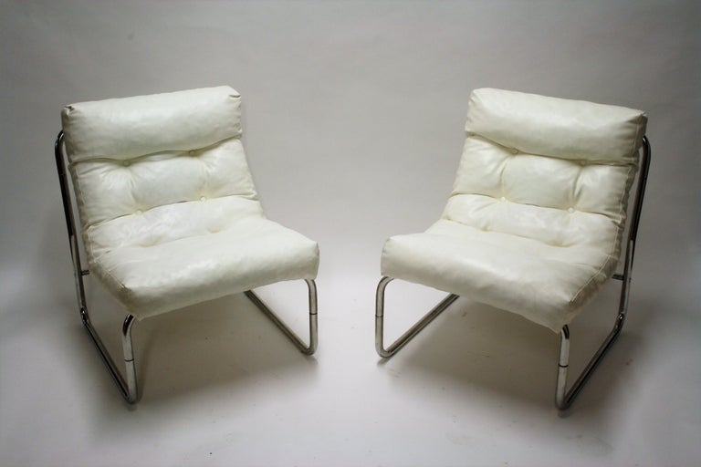 Vintage Lounge Chairs By Gillis Lundgren For Ikea Set Of Two 1970s