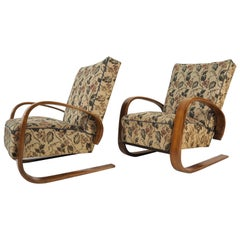 Vintage Lounge Chairs by Miroslav Navratil, 1930s, Set of 2