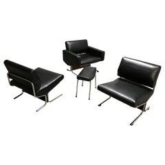 Vintage Low Chairs Model Caracas by Pierre Guariche, 1960s