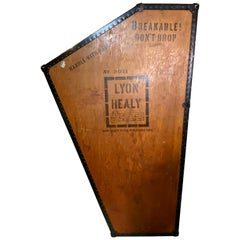 Vintage Lyon and Healy Harp Case