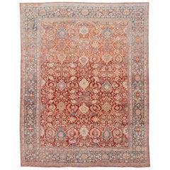 Vintage Mahal Handmade Wool Rug