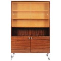 Vintage Mahogany Bookcase, 1970s