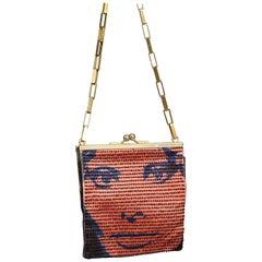 Vintage MAISON LESAGE Sophia Loren Mod French Beaded Bag