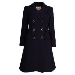 Vintage Mansfield for Harrods Chic Blue Coat
