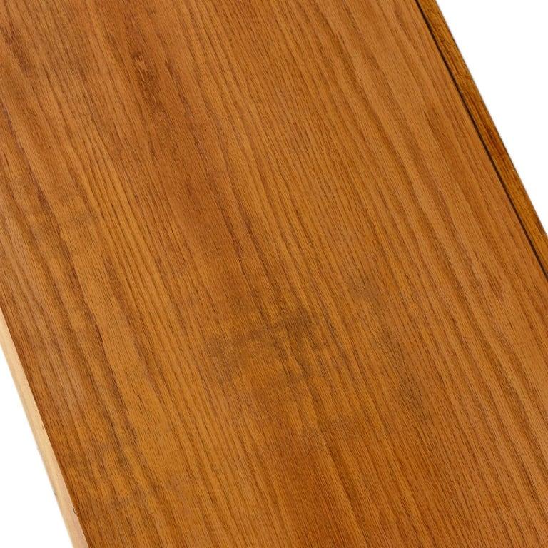 Vintage Maple Burl Walnut Rosewood and Oak Brutalist Credenza Dresser 3