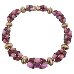 Vintage Marcel Boucher Lilac Necklace