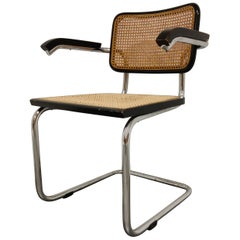 Vintage Marcel Breuer Cesca B64 Chair, Made in Italy, 1970s