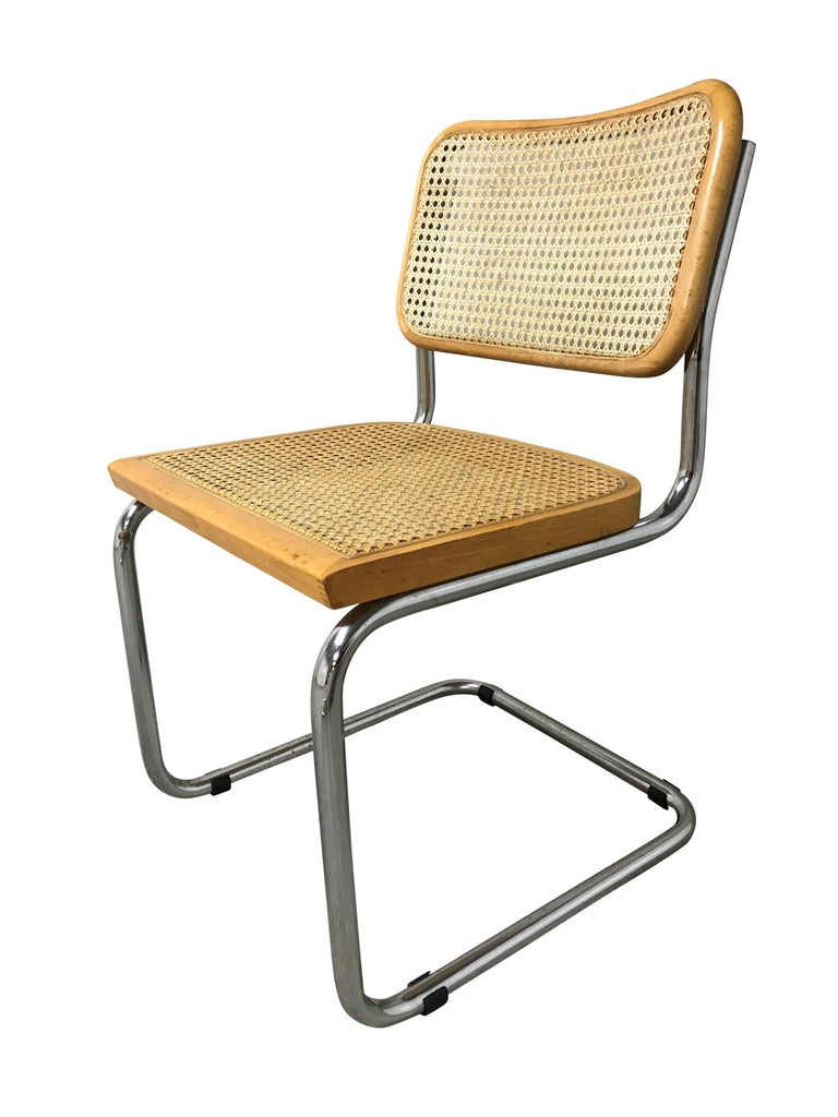 Vintage Marcel Breuer Cesca Chairs, Made in Italy, 1970s 1