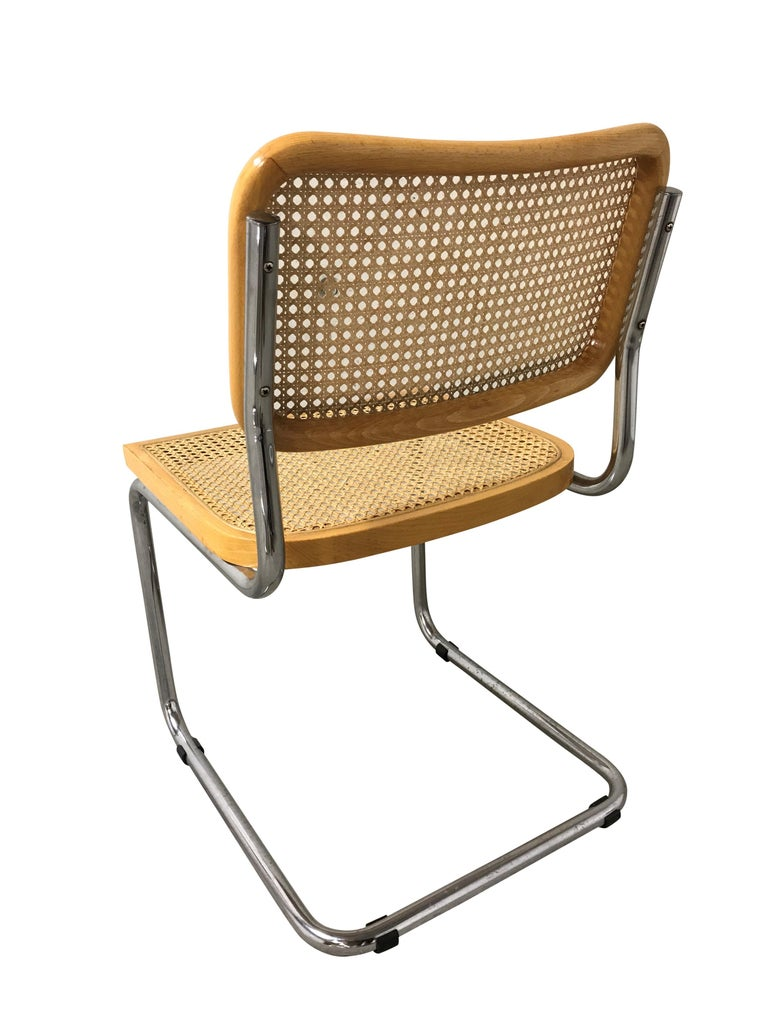 Vintage Marcel Breuer Cesca Chairs, Made in Italy, 1970s 2