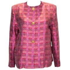 Vintage Mario Valentino Silk Jacket
