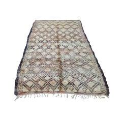 Vintage Marmoucha Handwoven Rug