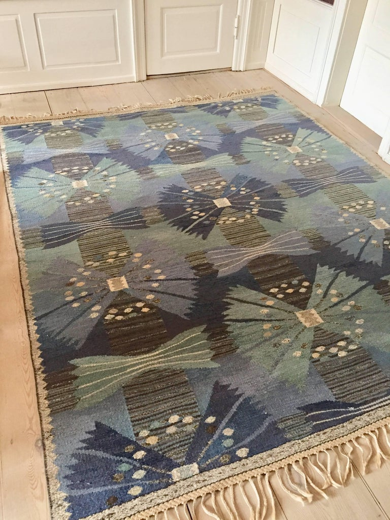 Swedish Vintage Marta Maas-Fjetterström Rug For Sale