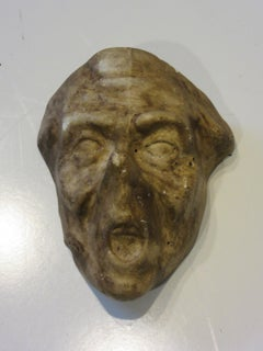 Vintage Mask Mold of a Old Man by the American Mask Company
