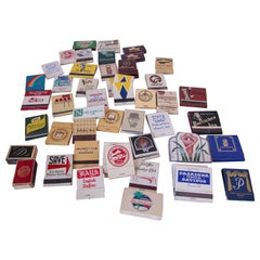 Vintage Matchbook Collections
