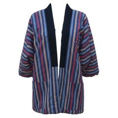Vintage Matsuya Japanese Kimono Style Cotton Puffer Jacket