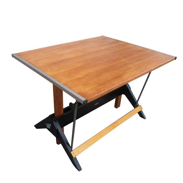 Vintage Mayline Drafting Table at 1stdibs