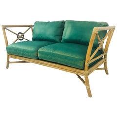 Vintage McGuire Love Seat