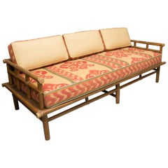 Vintage McGuire Rattan Daybed