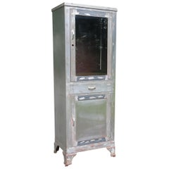 Vintage Medical Cabinet Doctor's Cabinet Distressed