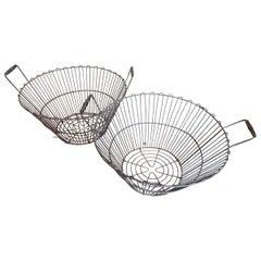Vintage Metal Baskets