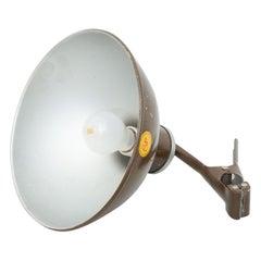 Vintage Metal Clamp Lamp, circa 1940