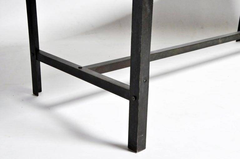 Vintage Metal Industrial Welder's Table For Sale 3