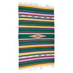 Vintage Mexican Serape Textile