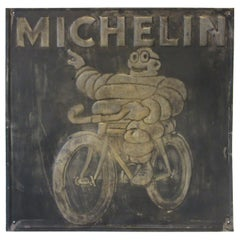 Vintage Michelin Tire Metal Sign