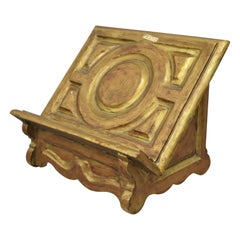 Vintage Mid-20th Century Italian Baroque Style Book Stand Holder Lectern Spain
