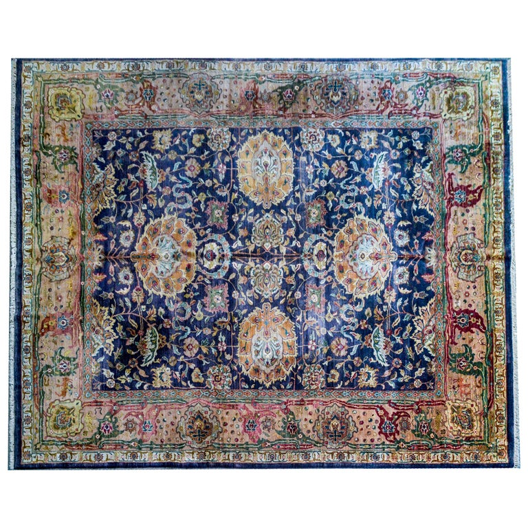 Vintage Mid-20th Century Sultanabad Rug For Sale