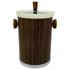 Vintage Midcentury Atomic Ice Bucket