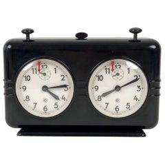 Vintage, Midcentury, Bakelite, Chess Clock Timer from Chronotechna, 1950s