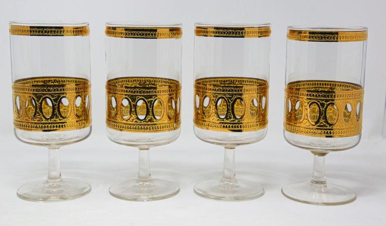 Vintage Midcentury Culver Antigua Barware Cocktail Set For Sale 3