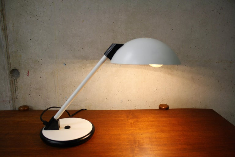 Italian Vintage Mid-Century Desk Lamp, 1970s For Sale