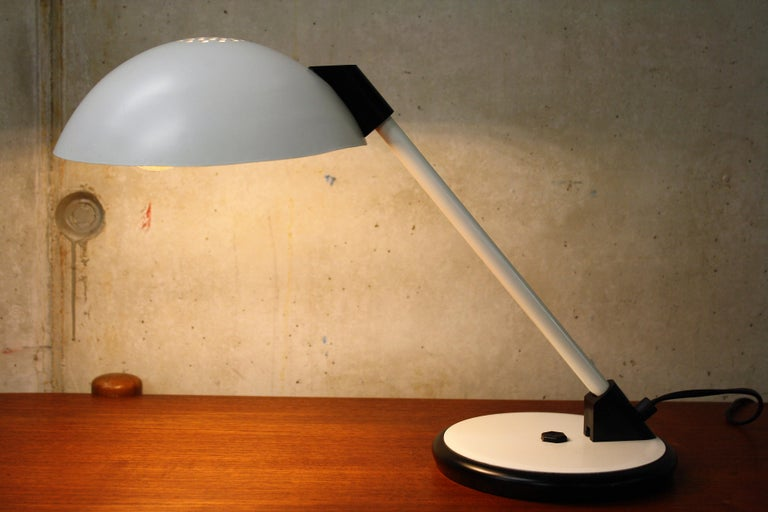 Plastic Vintage Mid-Century Desk Lamp, 1970s For Sale