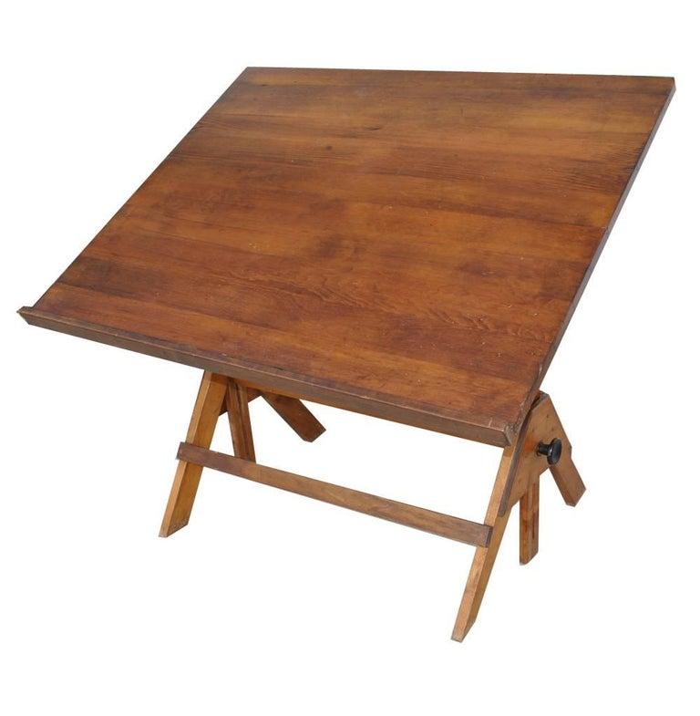 Vintage Midcentury Drafting Table