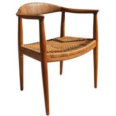 Vintage Midcentury Hans J. Wegner the Chair