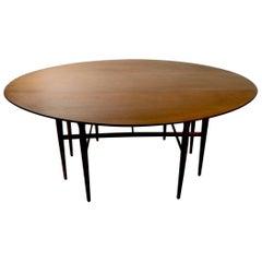 Vintage Mid Century Heritage Henredon Drop-Leaf Dining Table