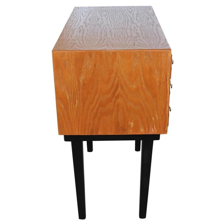 Vintage Midcentury Library Card Catalogue Console For Sale 3
