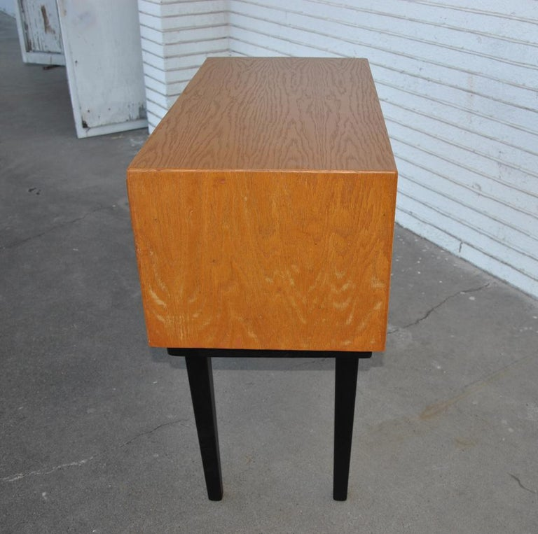 Vintage Midcentury Library Card Catalogue Console For Sale 5